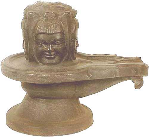 Mukhling Shivling with Face of Shiva