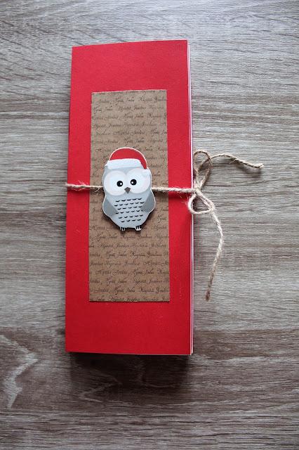 Suklaajoulukortti, yksinkertainen koristelu