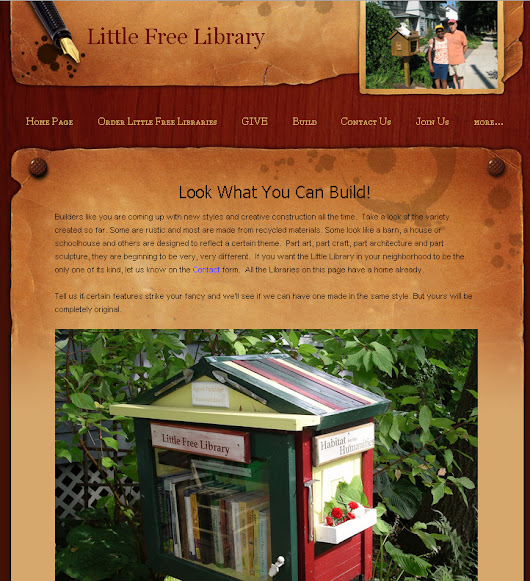 Little Free Library (and on neighbors)