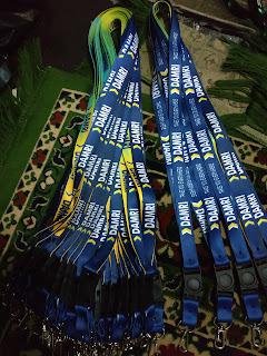 Produsen cetak tali lanyard berkualitas diJakarta