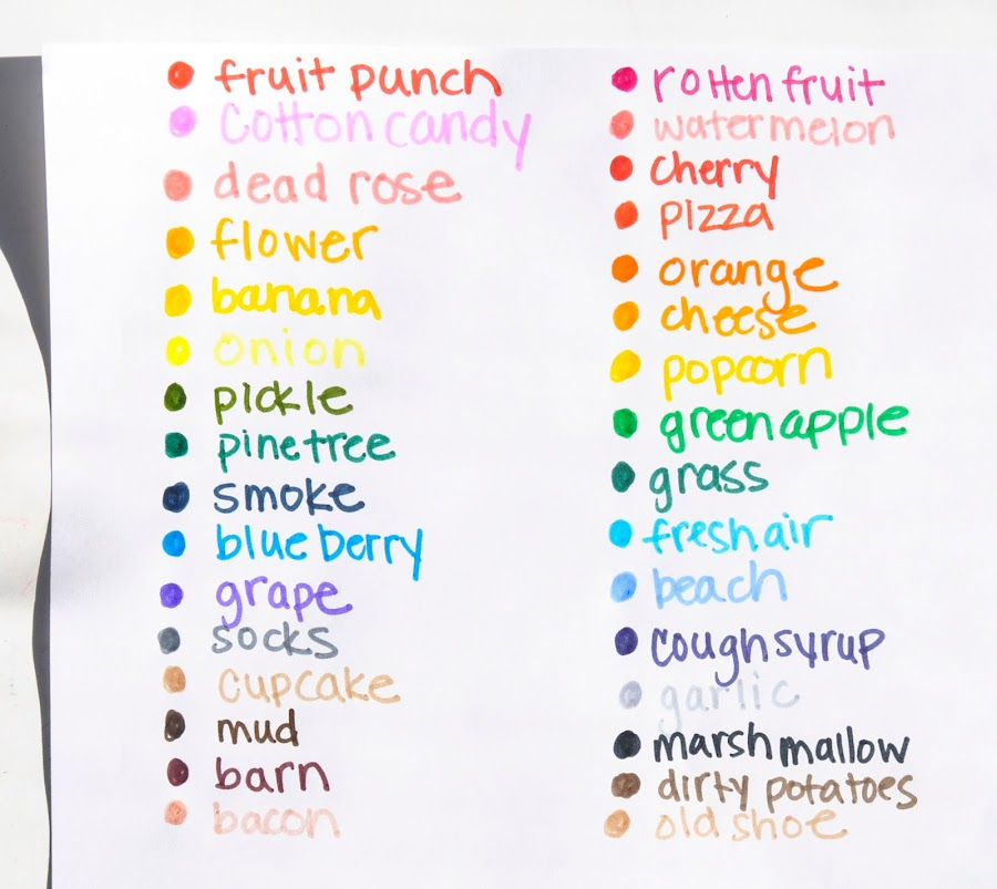 Crayola Silly Scents Stinky And Sweet Marker Activity Kits