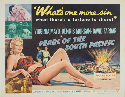 Pearl of the South Pacific - Poster