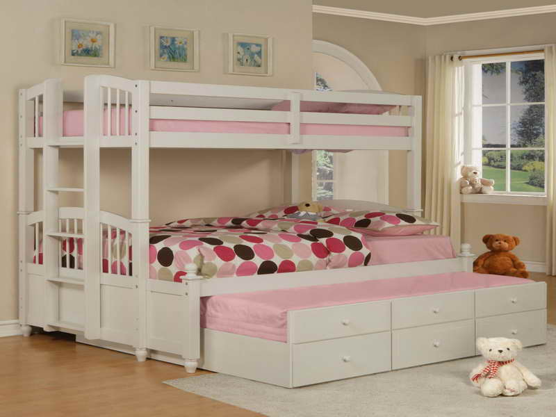 Double Deck Bed For Kids Bedroom Designs