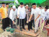 Allahu Akbar! Walikota Meletak Batu Pertama Muallaf Centre
