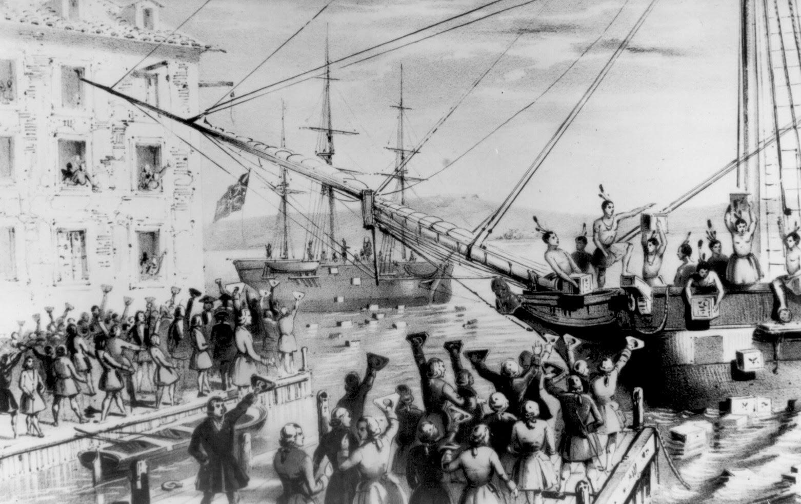December 16, 1773 Boston Tea Party