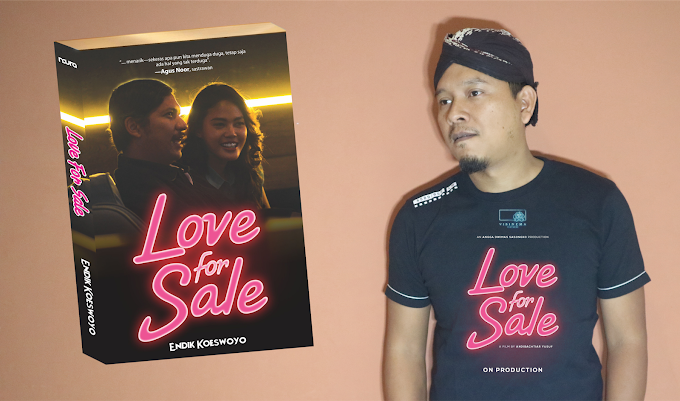 NOVEL LOVE FOR SALE - Konspirasi Cinta Penuh Teka-Teki