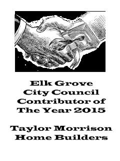 Taylor Morrison Homes Elk Grove