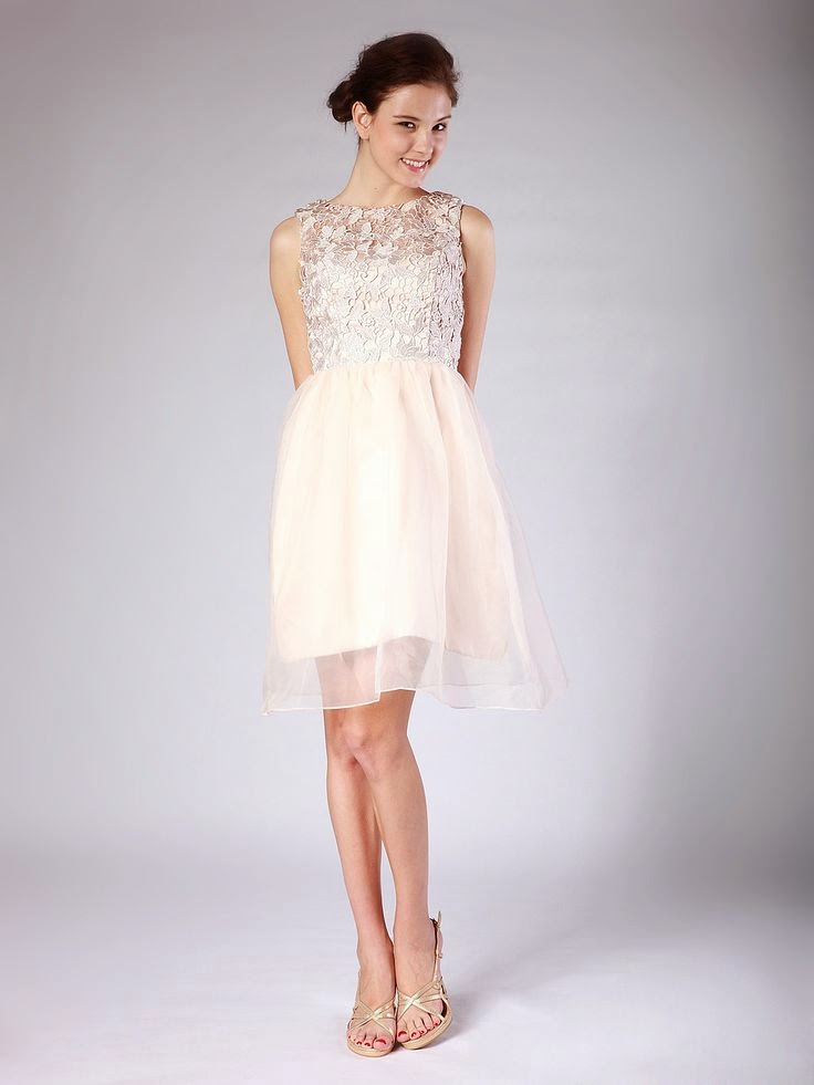 Beautiful girl in a beautiful dress