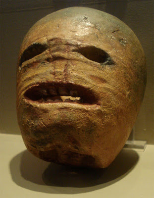 An Irish turnip lantern from the early 20th century. Wikimedia.org. Photo: Wikimedia.org.