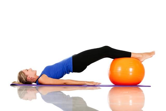 Exercicios com a Bola Suiça na Educação Física
