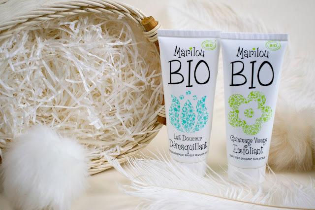 [436.] Gratka dla skór suchych i wrażliwych: mleczko oczyszczające i krem peelingujący marki Marilou BIO