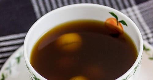黑糖桂圓薑茶 【寧神補身】 Brown Sugar Ginger Tea | 簡易食譜 - 基絲汀: 中西各式家常菜譜