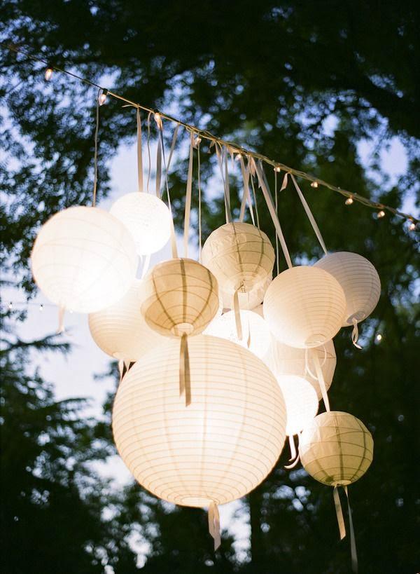 3162f4a54cd05 Decoração com lanternas chinesas