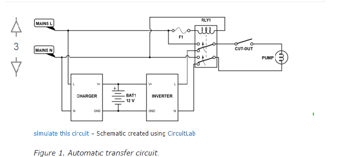 relay switch for ups