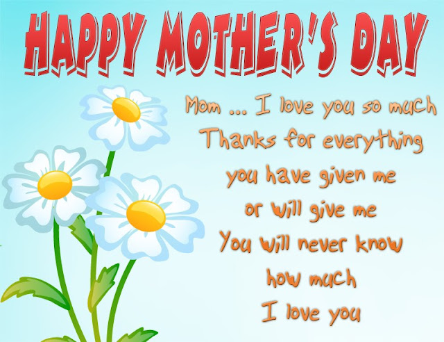 Mothers Day Greetings: Happy Mother's Day Greetings Card eCards For Mom 2017