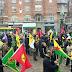 مشاجرة كبيرة في كوبنهاغن بعد مظاهرة ضد نظام أردوغان