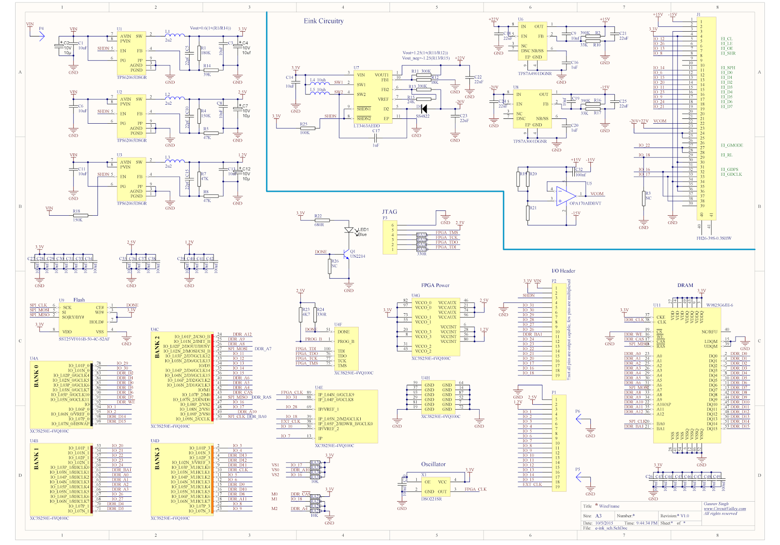 Xilinx Schematic Tutorial on
