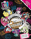 Monster High Monster Exchange: A Creepy-Cool Activity Book Book Item