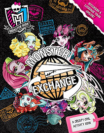 MH Monster Exchange: A Creepy-Cool Activity Book Media