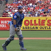 Wilson Contreras takes foul tip to the groin (Video)