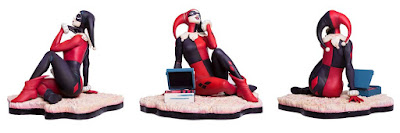 "Harley Quinn ""Waiting for My J Man"" Statue by Matt Taylor x Mondo x DC Comics"