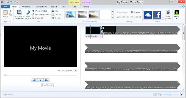 تحميل برنامج movie maker لويندوز 7