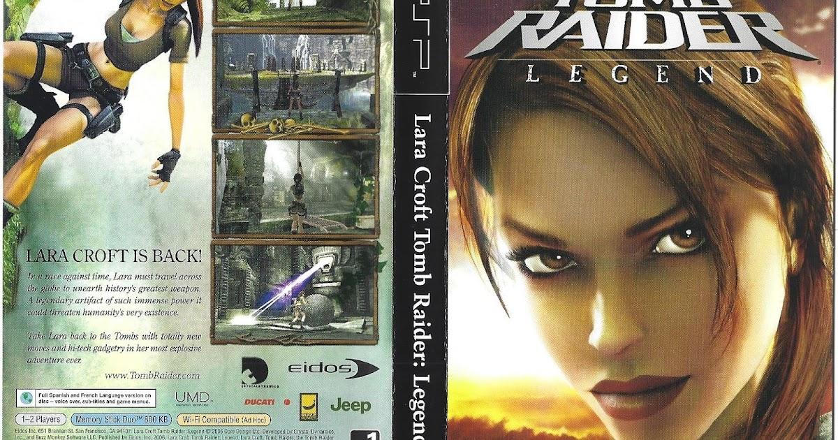 Psp Hardcore No Nonsense Review Lara Croft Tomb Raider Legend