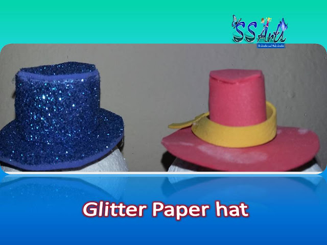 Here is Images for how to make christmas snowman hat,felt snowman hat pattern,snowman hats for crafts,mini felt top hats for crafts,how to make snowman hat with paper,diy snowman hat,How to make snowman hat for christmas decoration ideas