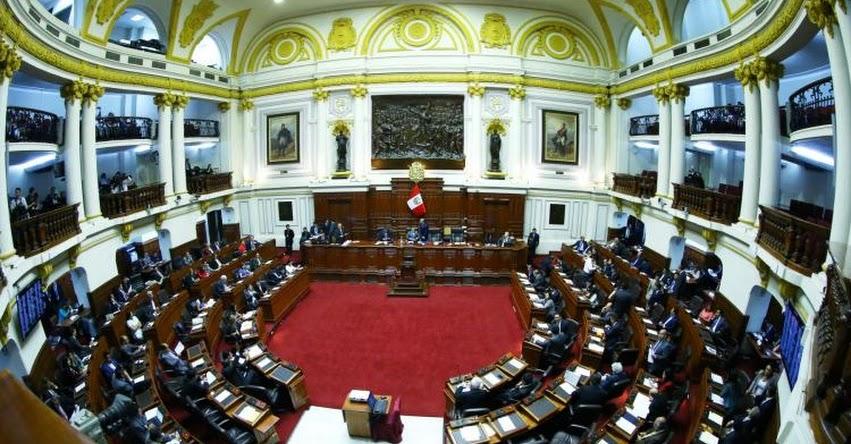 Congreso de la República convocó Pleno a las 16:00 horas para debatir admisión de vacancia presidencial