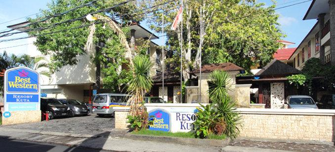 BEST WESTERN Resort Kuta, Dari Konsep Modern Minimalis Hingga ke Balinese