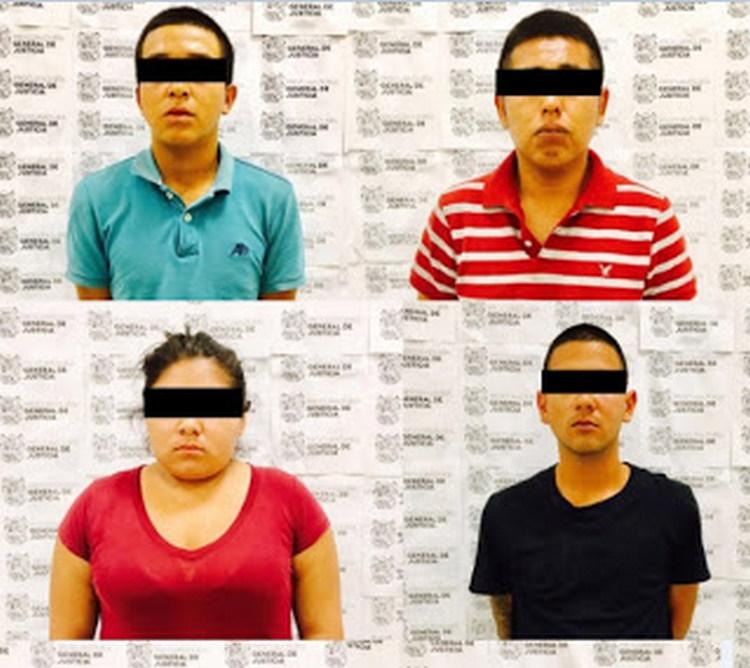 """Detienen a cuatro """"Halcones"""" por participar en grupos delictivos de Reynosa Tamaulipas"""