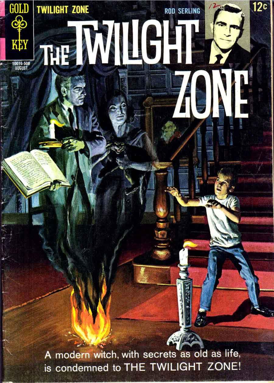Classic Book Cover Zone : Twilight zone al williamson art pencil ink