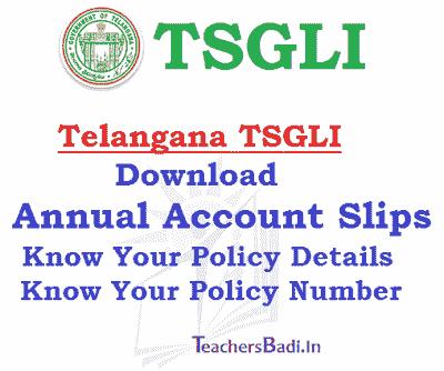download tsgli annual account slips,know your tsgli policy details,policy bond,annual account slip,tsgli policy no,tsgli application forms,telangana tsgli slips download