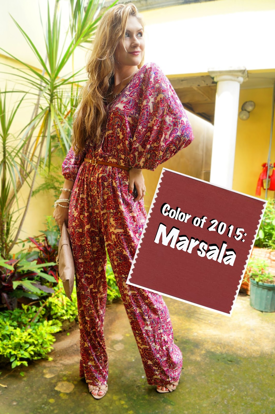 The Official Color of 2015 is Marsala. Click through for tips on how to wear it this season!