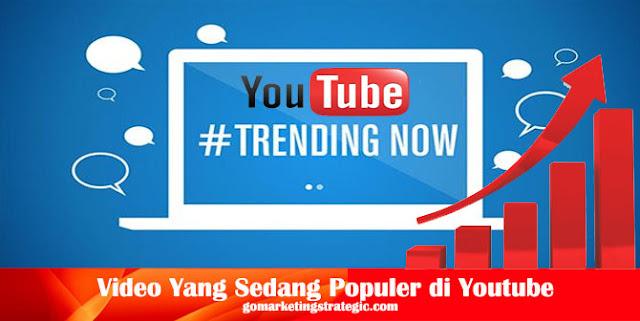 Video Yang Sedang Populer di Youtube