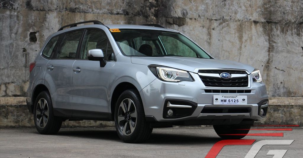Review: 2017 Subaru Forester 2.0i-L | Philippine Car News ...