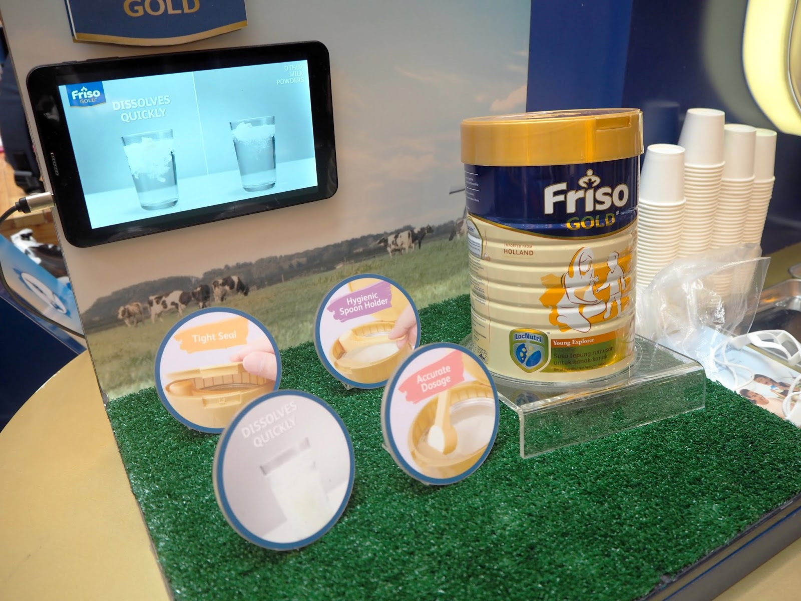 Friso Gold Experience Holland Roadshow At Sunway Pyramid Jia Shin Lee Frisolac 2 900gr I Was First Introduced To When Recently Me And My Friends Were Discussing On Milk Powder For Children Little Did Know Is 100