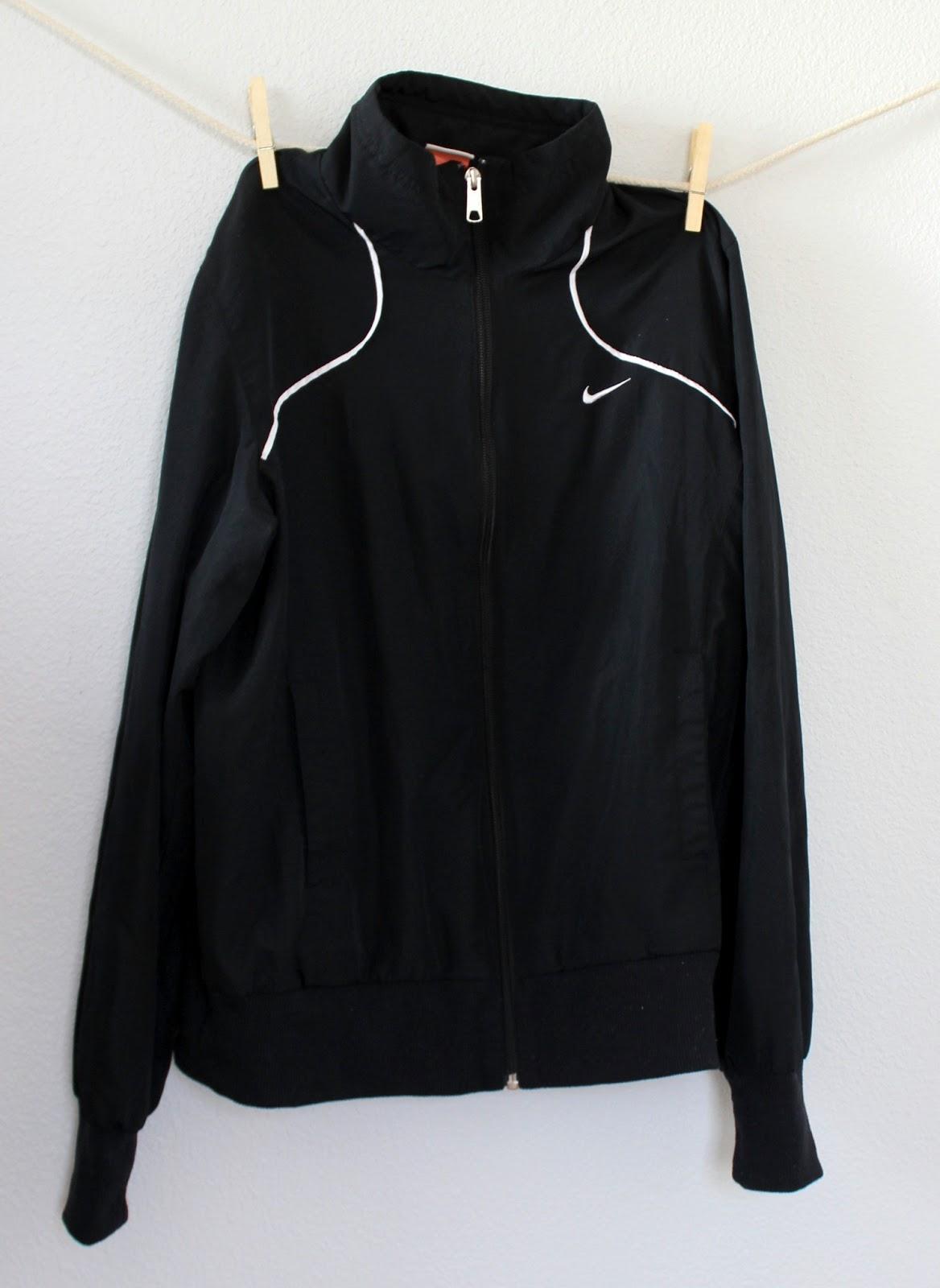 thrifted nike jacket