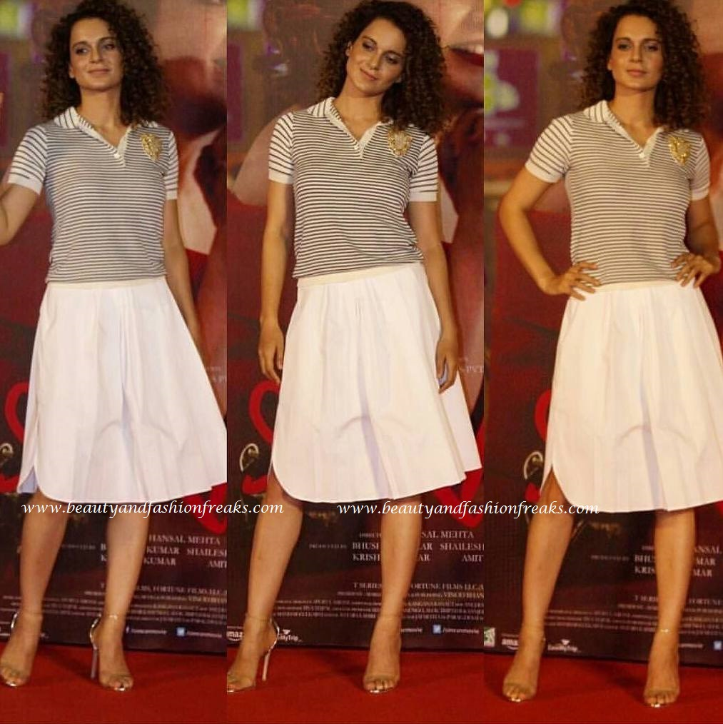 Kangana Ranaut in Dior at Simran Trailer launch