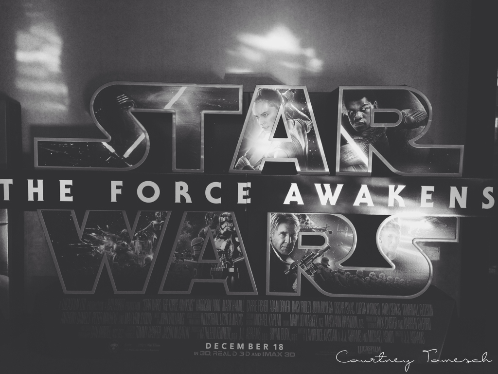 Courtney Tomesch Star Wars The Force Awakens