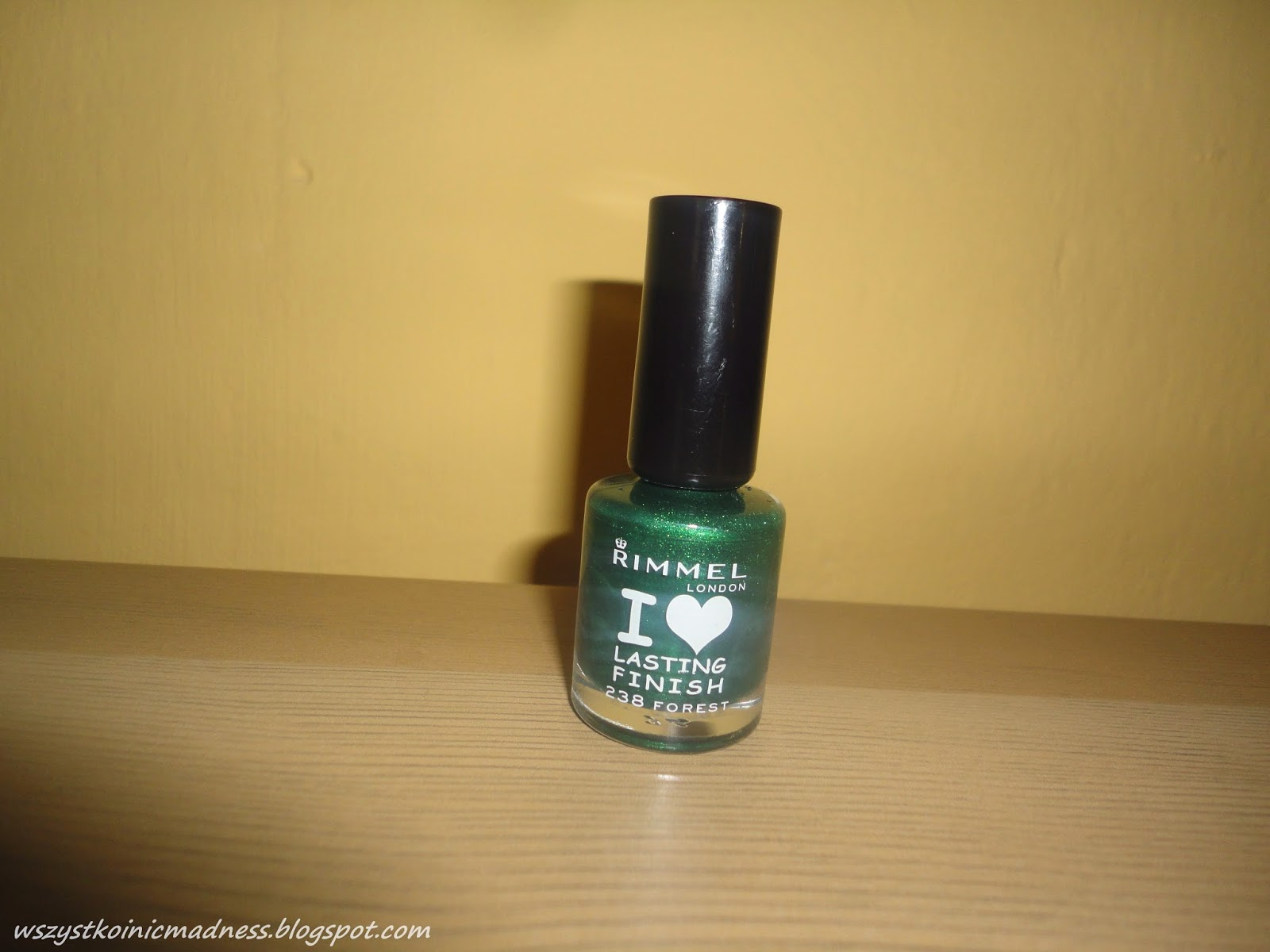 Rimmel lakier do paznokci i love lasting finish 238 forest.