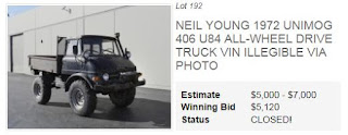 Neil Youngs Unimog