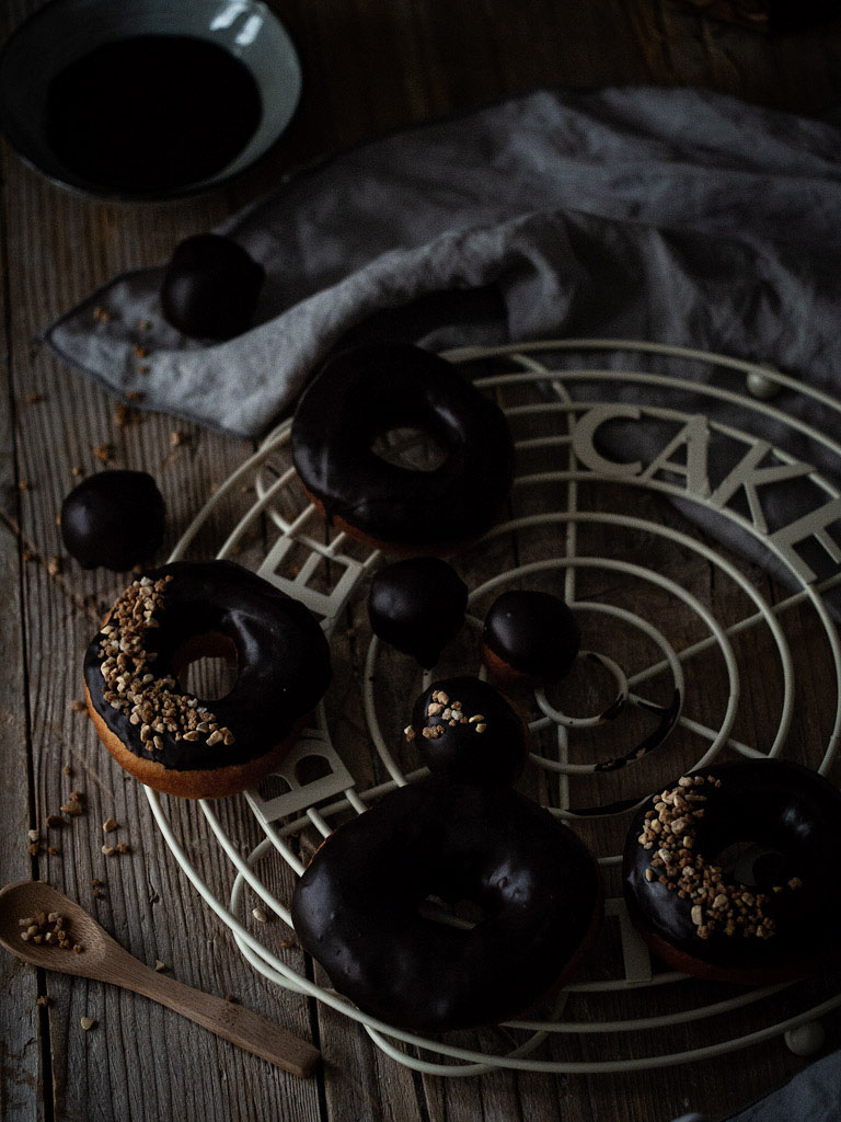 donuts-con-glaseado-de-chocolate