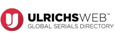 Logotipo do ULRICHS com link externo para exibir a página da Revista no indexador