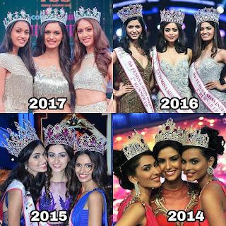 miss india winners