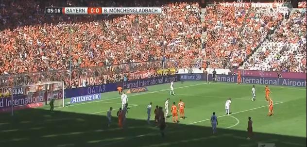 اهداف مباراة بايرن ميونيخ وبوروسيا مونشنغلادباخ 1-1 الدورى الالمانى الاسبوع 32