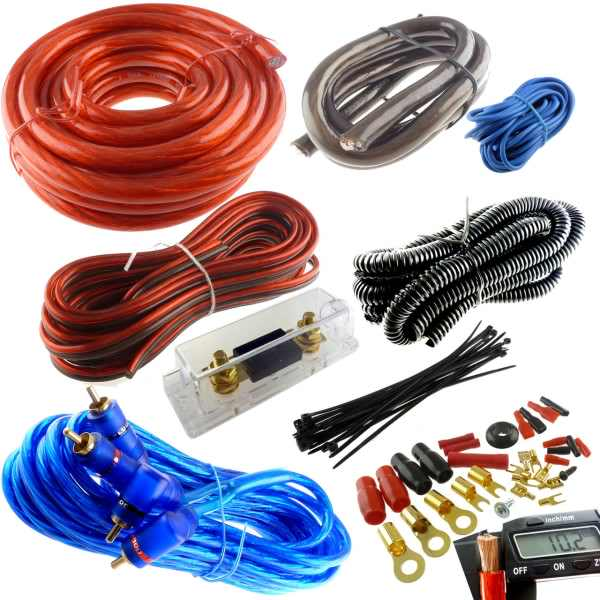 car audio installation wiring kits