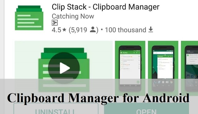 Clip Stack - Clipboard Manager for Android