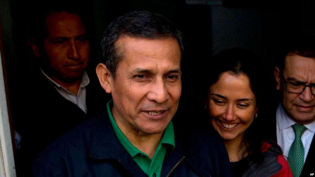 Ollanta Humala y Nadine Heredia enfrentan procesos penales desde que dejaron el poder en 2017 / AP