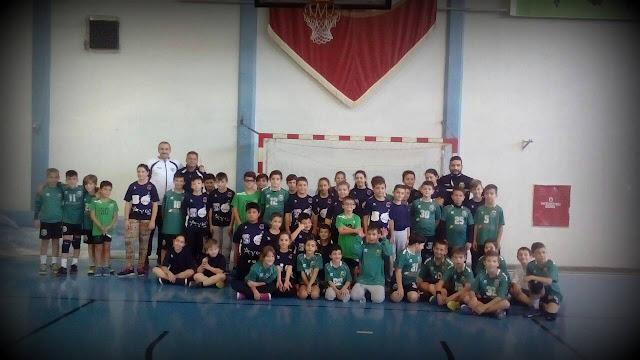 Πρώτος φιλικός αγώνας για τη νέα χρονιά  των ακαδημιών ΓΑΣ Ναυπλίου-Πολυνίκης Handball